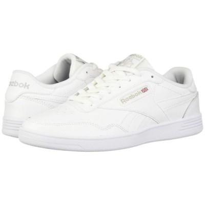 リーボック Reebok メンズ スニーカー シューズ・靴 Club Memt White/Steel/White