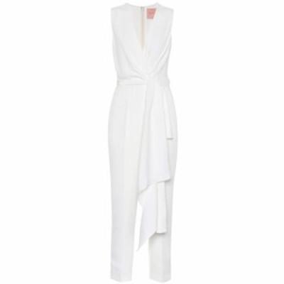 ロクサンダ Roksanda レディース オールインワン ジャンプスーツ ワンピース・ドレス Rokuro bridal silk-blend jumpsuit Ivory