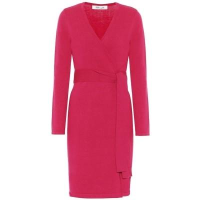 ダイアン フォン ファステンバーグ Diane von Furstenberg レディース ワンピース ラップドレス ワンピース・ドレス astrid wrap dress Magenta