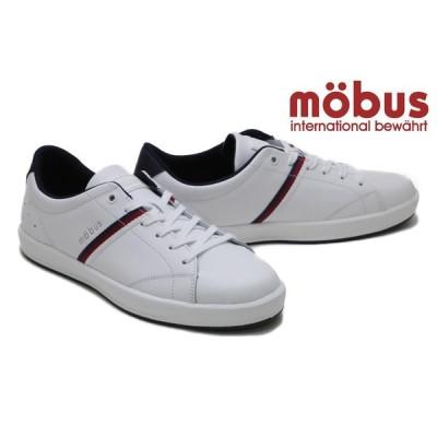 モーブス / mobus メンズ スニーカー m-2104t whnv ローランド ホワイトネイビー