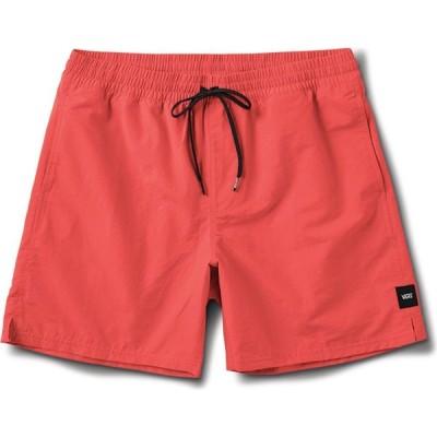 ヴァンズ Vans メンズ ショートパンツ ボトムス・パンツ Primary Volley II Shorts Calypso Coral