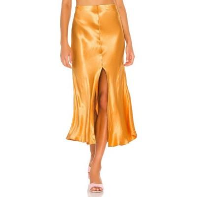 バルドー Bardot レディース ひざ丈スカート スリップスカート スカート Midi Slip Skirt Tangerine