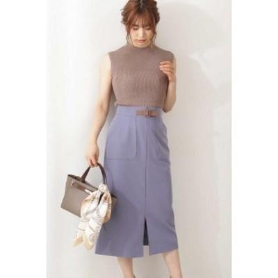 プロポーションボディドレッシング(PROPORTION BODY DRESSING)/フロントベルトタイトスカート