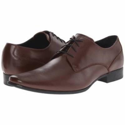 カルバンクライン 革靴・ビジネスシューズ Brodie Medium Brown Leather