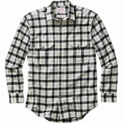 フィルソン シャツ Filson Alaskan Guide Shirt Cream / Black Plaid