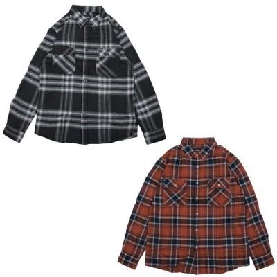 BRIXTON ブリクストン フランネルシャツ メンズ BOWERY FLANNEL SHIRT 2色