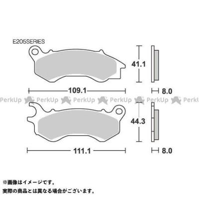 【無料雑誌付き】エスビーエス ブレーキパッド E205 ストリート(セラミック) SBS