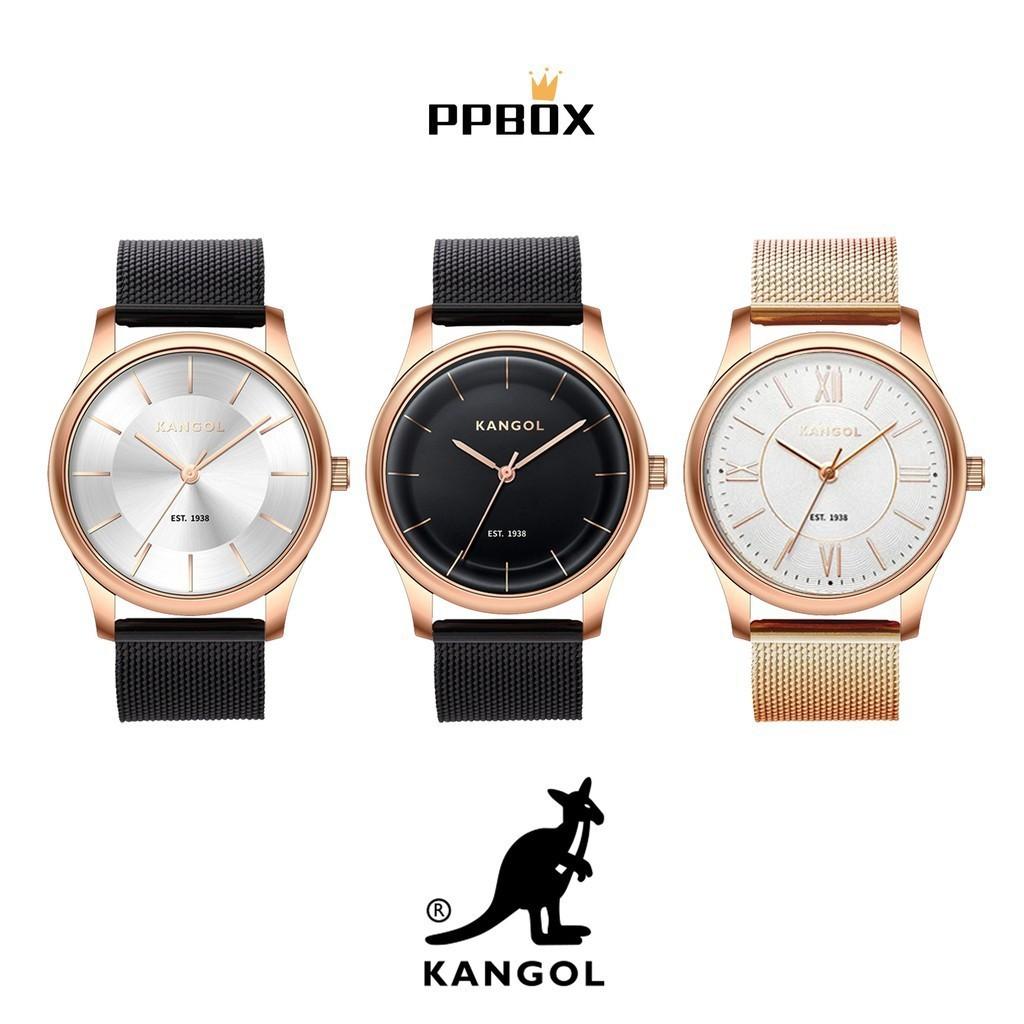 KANGOL 袋鼠 經典 米蘭帶 手錶 腕錶 38mm 情人節 禮物【KGWT_Y001】
