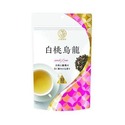 三井銘茶 遊香茶館 白桃烏龍 10袋入×4個
