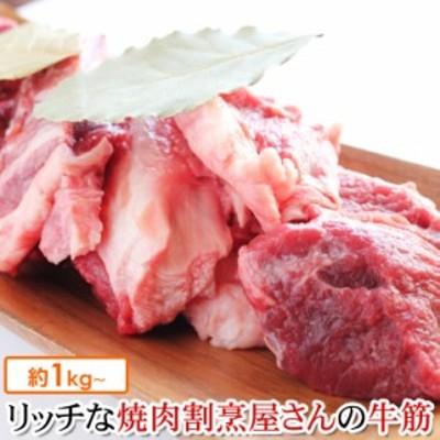 国産 特選 牛すじ 1kg 牛筋 すじ肉 国産牛 筋肉 和牛 もつ煮込み 牛筋カレーに