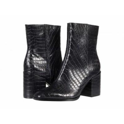 VIONIC バイオニック レディース 女性用 シューズ 靴 ブーツ アンクル ショートブーツ Harper Black Croc【送料無料】
