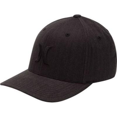ハーレー メンズ 帽子 アクセサリー Hurley Men's Black Textures Hat