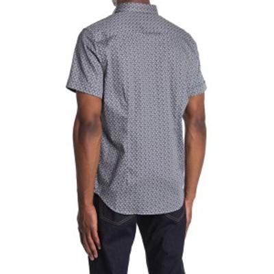 ロバートグラハム メンズ シャツ トップス Solano Printed Regular Fit Shirt NAVY