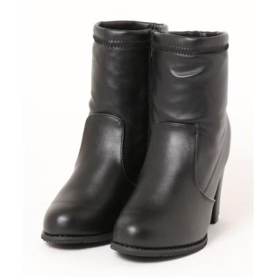 Mafmof / Realta(レアルタ) ストレッチ素材 ショートブーツ WOMEN シューズ > ブーツ