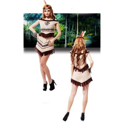大人用 女性用 ハロウィン衣装 インディアン スパルタ 勇士 ハロウィン 衣装 仮装 コスプレ衣装 レディース イベント ハロウィーン ガールズ