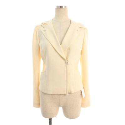 ルネ ジャケット パール Wジップアップ フード付き 長袖 34