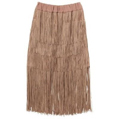 スカート フリンジスカート