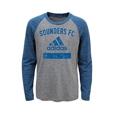 MLS Seattle Sounders FC Boys Outerstuff Triblend Equiptment Long Sleeve Tee
