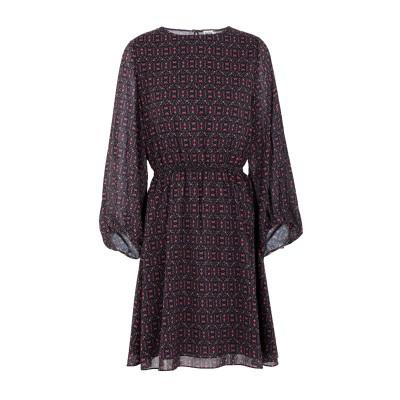 TWIST & TANGO ミニワンピース&ドレス ブラック 38 ポリエステル 100% ミニワンピース&ドレス