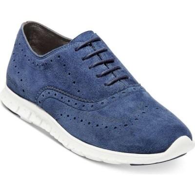 コールハーン Cole Haan レディース スニーカー シューズ・靴 ZeroGrand Wing Oxford II Sneakers Blazer Blue