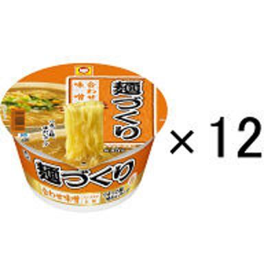 東洋水産マルちゃん 麺づくり 合わせ味噌 みそ味 12個