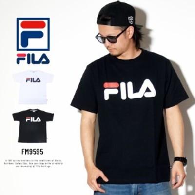 (メール便送料無料)フィラ ヘリテージ FILA HERITAGE Tシャツ メンズ ベーシックロゴ FM9595