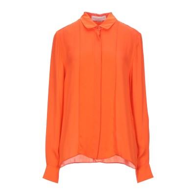 ステラ マッカートニー STELLA McCARTNEY シャツ オレンジ 42 シルク 100% シャツ