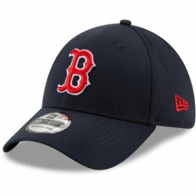 New Era ニュー エラ スポーツ用品  New Era Boston Red Sox Navy Perforated Play 39THIRTY Flex Hat