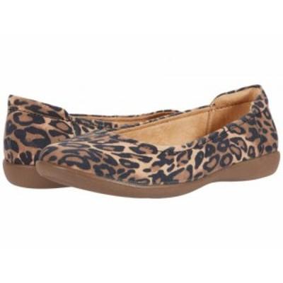 Naturalizer ナチュラライザー レディース 女性用 シューズ 靴 フラット Flexy Brown Cheetah【送料無料】