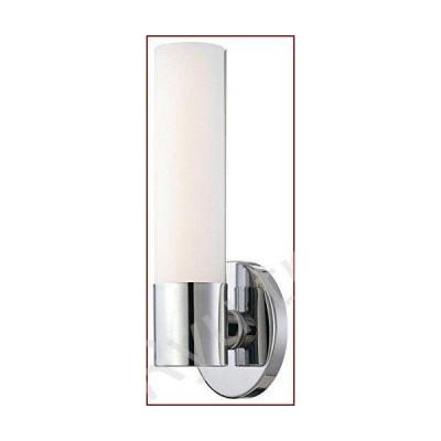 """新品Kovacs p5041-l Saberシングルライト4???3?/ 4?""""ワイド統合LEDバスルーム壁取り付け用燭台Wit、 P5041-077-L"""