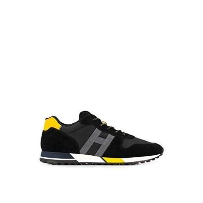 Hogan Luxury Fashion Man HXM3830AN51N4X691P Black Leather Sneakers | Spring Summer 20 並行輸入品