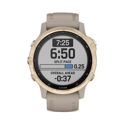 ガーミン レディース 腕時計 アクセサリー Fenix 6S Pro Solar Smart Watch 30mm