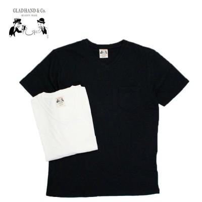GLAD HAND グラッドハンド Tシャツ STANDARD V-NECK T-SHIRTS GLADHAND-06