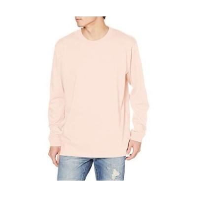 エフスタイル Tシャツ リブ付きロング袖Tシャツ オフピンク 標準