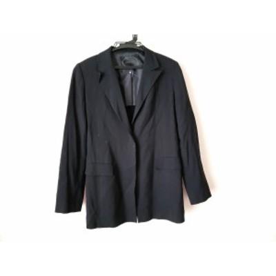 アンタイトル UNTITLED ジャケット サイズ9 M レディース 黒 肩パッド【中古】
