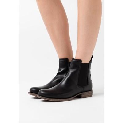 アンナフィールド ブーツ&レインブーツ レディース シューズ LEATHER  - Ankle boots - black