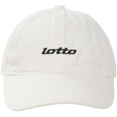 LOTTO ロット シシュウキャップ LO-Y19-013-003 スポーツアクセサリー 帽子 メンズ ホワイト FREE セール