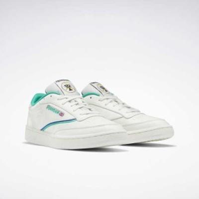 リーボック REEBOK クラブ C 85 コートシューズ [サイズ:28.0cm] [カラー:チョーク×コートグリーン] #FX3360 靴 Club C 85