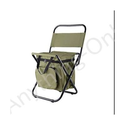 新品 Y HWZDY Camping Chair Outdoor Camping Foldable Leisure Chair Multifunctional Portable Thermal Insulation Storage Box with Backrest Fishing St