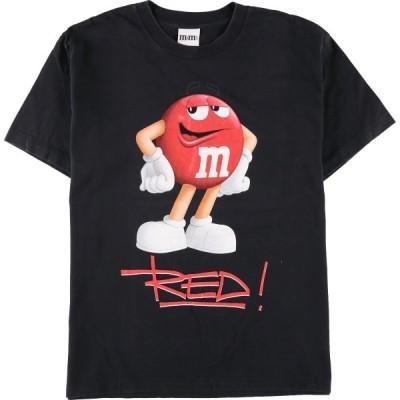 m&m's アドバタイジングTシャツ メンズL /eaa154950