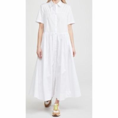 スタウド STAUD レディース ワンピース ワンピース・ドレス Guilia Dress White