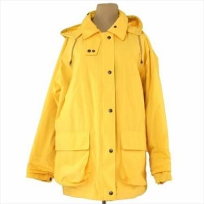 バーバリー BURBERRY コート 服 上着 服 フード付き レディース シングルボタン&ジップ 【中古】 T7316