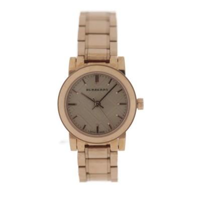 新品未使用展示品 BURBERRY バーバリー BU9228 腕時計 ステンレススチール ローズゴールド THE CI【本物保証】