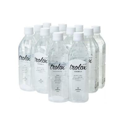 【公式】Trolox トロロックス 天然抗酸化水 500ml ペットボトル 24本