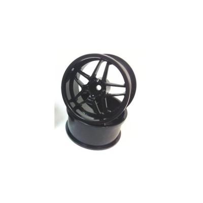 送料無料 TOP LINE BLITZ BRW03 ホイル幅27mm&3mmハブ対応 (ブラック) #BRW-070BK 【取寄せ】
