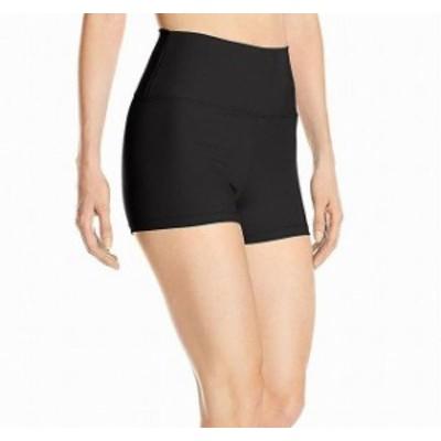 Capezio カぺジオ ファッション パンツ Capezio NEW Black Womens Size Medium M High-Waisted Activewear Shorts #567