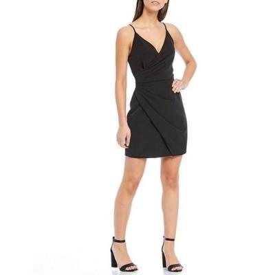 ジャンビニ レディース ワンピース トップス Natalie Wrap Crepe Dress