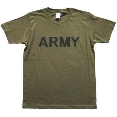 ミリタリー Tシャツ ARMY 米陸軍 トレーニングT