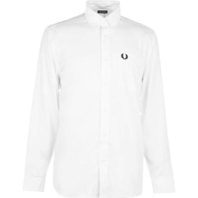 フレッドペリー Fred Perry メンズ シャツ トップス Oxford Shirt White