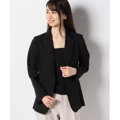 Leilian/レリアン テーラードジャケット ブラック9 7